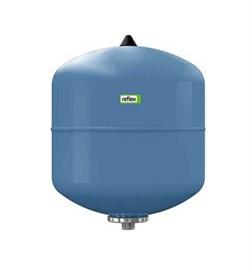 Расширительный бак Refix DE 8 (10 бар/70 C) для водоснабжения вертикальный (синий) - фото 37720