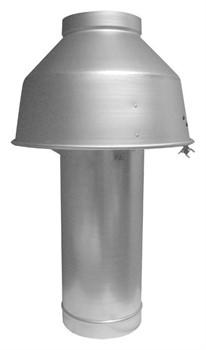 Вытяжной колпак для котла BAXI, диам.160 мм для SLIM 1.400iN, SLIM 1.490 iN ( KHW714068811 ) - фото 39787