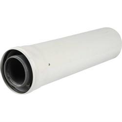 Труба коаксиальная 110/160, длина 500 мм, полипропиленовая - фото 47165