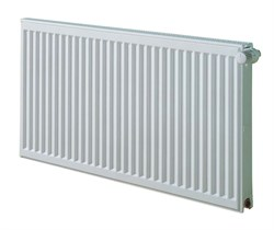 Стальной панельный радиатор отопления KERMI 100x400x600 ( FK0220400601N2Z ) боковое подключение - фото 4817