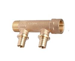 Коллектор водоснабжения Rehau на две трубы R/Rp 3/4-20 RX+ ( ст. арт. 13661301001 ) - фото 48364