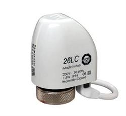 Термоэлектрический сервопривод Watts, 26LC230NC2, 230 В, нормально закрытый, M30X1,5 ( компактный ) - фото 48716
