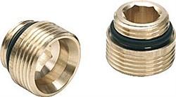Комплект двух нипелей с нар. резьбой 1/2х3/4 EK (латунь) - фото 5079