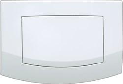 Кнопка смыва TECEambia, 1 клав., белая, антибак. ( 9240140 ) - фото 5268