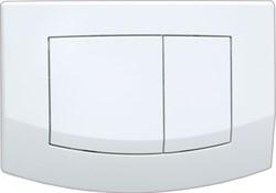 Кнопка смыва TECEambia, 2 клав., белая, антибак. ( 9240240 ) - фото 5278