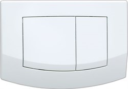 Кнопка смыва TECEambia, 2 клав., белая. ( 9240200 ) - фото 5280