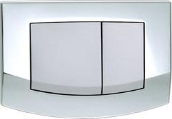 Кнопка смыва TECEambia, 2 клав., микс (рамка - хром глянц.). ( 9240254 ) - фото 5282