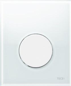 Кнопка смыва TECEloop Urinal, стекло белое, клав. белая. ( 9242650 ) - фото 5294