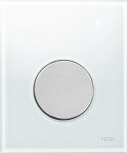 Кнопка смыва TECEloop Urinal, стекло белое, клав. хром мат. ( 9242659 ) - фото 5300
