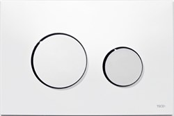 Кнопка смыва TECEloop пластик белый, хром глянц. ( 9240627 ) - фото 5541