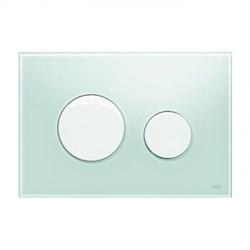 Кнопка смыва TECEloop стекло зеленое, клав. белые. ( 9240651 ) - фото 5599