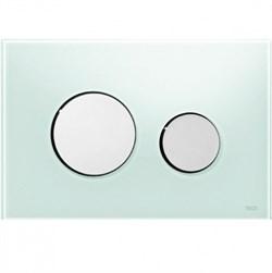 Кнопка смыва TECEloop стекло зеленое, клав. хром глянц. ( 9240653 ) - фото 5601