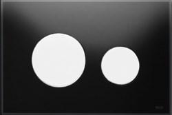 Кнопка смыва TECEloop стекло черное, клав. белые. ( 9240654 ) - фото 5607