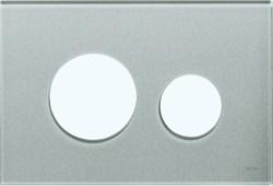 Лицевая панель клавиши смыва TECEloop, стекло, цвет - серебрянный (Alape) ( 9240676 ) - фото 5640