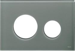 Лицевая панель клавиши смыва TECEloop, стекло, цвет - серо-голубой ( 9240677 ) - фото 5641