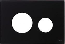 Лицевая панель клавиши смыва TECEloop, стекло, цвет - черный (Alape, EMCO) ( 9240674 ) - фото 5643