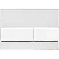 Кнопка смыва TECESquare, стекло белое, клавиши белые ( 9240800 ) - фото 5669