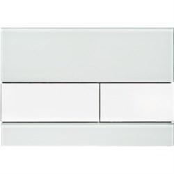 Кнопка смыва TECESquare, стекло зеленое, клавиши белые ( 9240803 ) - фото 5675
