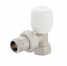 Вентиль регулирующий UNI-FITT ручной быстрого монтажа ВН 1/2 никелированный ( 151N2000 ) - фото 6019