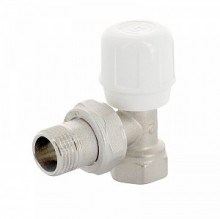 Вентиль регулирующий UNI-FITT ручной угловой ВН 1/2 никелированный ( 155N2000 ) - фото 6022