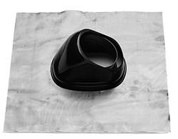 Изолирующая накладка для наклонных крыш, внутренний диаметр 125 мм - фото 8421