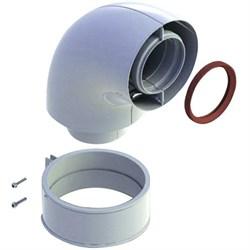 Коаксиальный отвод 90°, диам. 60/100 мм для котла BAXI ( KHG714101410 ) - фото 8506
