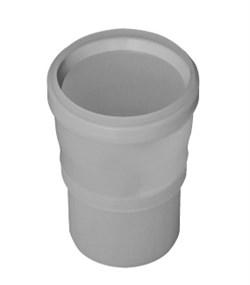 Переходник НТ с диаметра 100 на 110 (полипропилен) - фото 8508