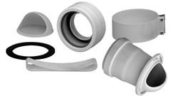 Переходной комплект для котла BAXI на раздельные трубы DN 80 (AFR) ( KHG714061511 ) ( KHG71406151 ) - фото 8509