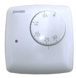 Термостат комнатный EMMETI 2-х контактный ( 02001020 ) - фото 9822