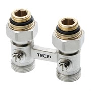 """TECE Узел нижнего подключения радиатора multiflex TECE проходной 3/4"""" Ek x 1/2"""" AG"""