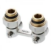 """TECE Узел нижнего подключения радиатора multiflex TECE угловой 3/4"""" Ek x 1/2"""" AG"""