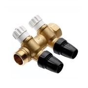 Коллектор водоснабжения TECE, push-fit 16 х 3/4 2 контура с запорными вентилями, TECE 8730008