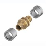 Соединение труба-труба 16 х 16 для труб SLQ PE-RT TECE 77220016