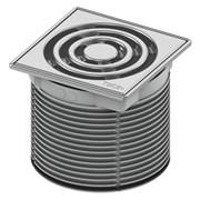 Базовая решетка 100 х 100 мм с монтажным элементом, сталь TECE 3660002