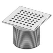 Декоративная решетка quadratum 150 х 150 м с монтажым элементом, сталь TECE 3660008