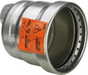 "Заглушка Viega 108x3/4"" нерж.сталь Sanpress Inox XL с отверстием, внутренняя резьба ( 557911 )"