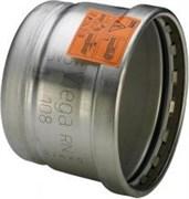Заглушка Viega 76.1 нержавеющая сталь Sanpress Inox XL SC-Contur ( 557881 )