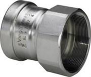 Муфта Viega пресс-В 64х2'1/2 нержавеющая сталь Sanpress Inox SC-Contur ( 619954 )
