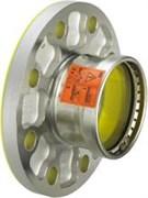 Переход фланец-пресс DN100x108 нержавеющая сталь Sanpress Inox Viega ( 482992 )