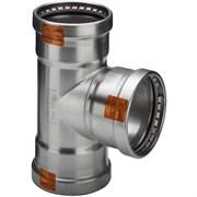 Тройник пресс Viega 108x76x108 нержавеющая сталь Sanpress Inox SC-Contur ( 482787 )