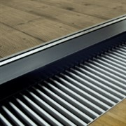 Декоративная решетка поперечная, ширина:145 мм, любой цвет гаммы RAL
