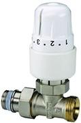 Вентиль в комплекте с термостатической головкой Meibes RTL , прямой 1/2 x 3/4