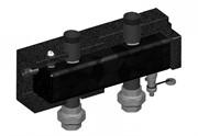 Гидрострелка для настенных коллекторов до 125 кВт , м/о 200 мм