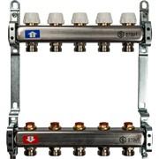 STOUT SMS 0922 000005 STOUT Коллектор из нержавеющей стали без расходомеров 5 вых.