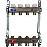 STOUT SMS 0922 000004 STOUT Коллектор из нержавеющей стали без расходомеров 4 вых.