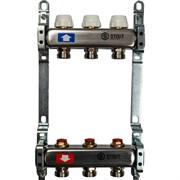 STOUT SMS 0922 000003 STOUT Коллектор из нержавеющей стали без расходомеров 3 вых.