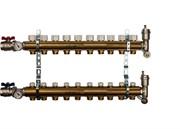 STOUT SMB 0468 000010 STOUT Распределительный коллектор из латуни без расходомеров 10 вых.