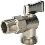 SVB-0023-001520 STOUT 1/2 на 3/4 Кран шаровой угловой для стиральных машин