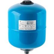 Расширительный бак, гидроаккумулятор 8 л. вертикальный (цвет синий)