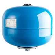 Расширительный бак, гидроаккумулятор 24 л. вертикальный (цвет синий)